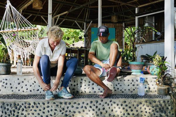 Dschungeltour - Togian Islands - PokiPoki - Sulawesi - travelumdiewelt.de