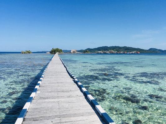 Pulau Papan - Togian Islands -Reiseblog - Sulawesi - travelumdiewelt.de