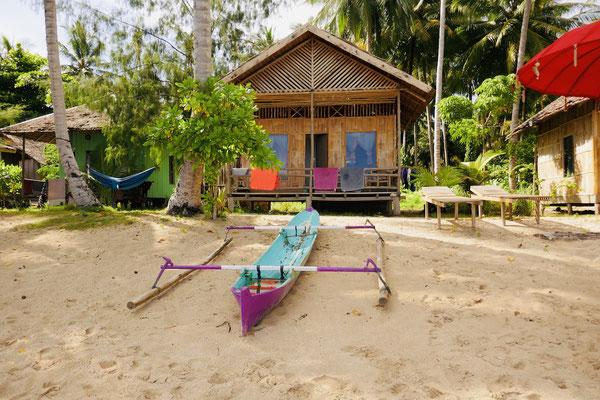 Strandbungalow - Togian Islands - Indonesien - Reisetipps - travelumdiewelt.de