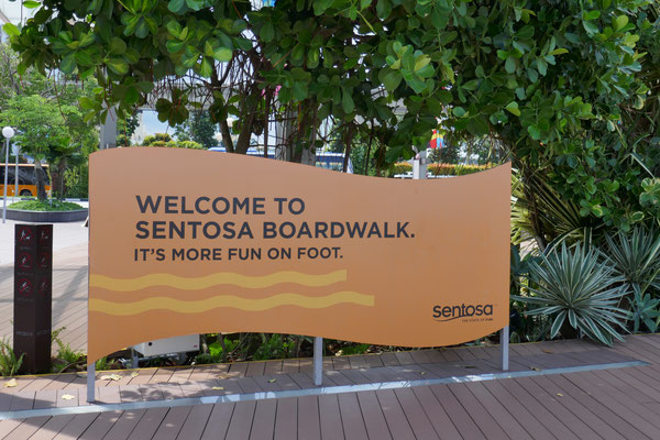 Sentosa Island - Boardwalk - Abenteuer Park - Singapur - Travelumdiewelt.de