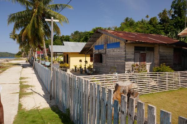 Dorf Malenge - Togian Islands - Sulawesi - Reisetipps - travelumdiewelt.de