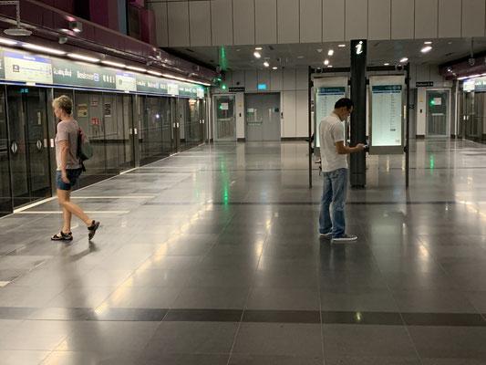 Metro MRT Singapur - travelumdiewelt.de