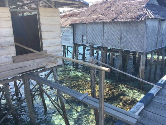 Stelzendorf - Paulau Papan - Sulawesi - Reisetipps - travelumdiewelt.de