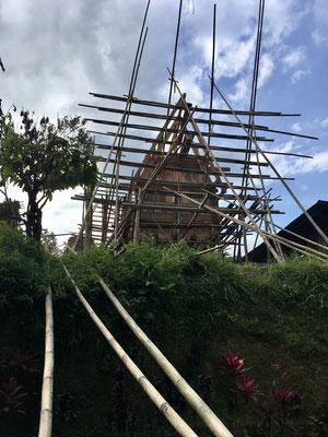 Tana Toraja - Rantepao - Hausbau - Reisetipps - travelumdiewelt.de