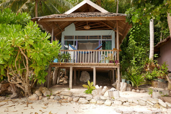 Strandbungalow - Togian Islands - Sulawesi - travelumdiewelt.de