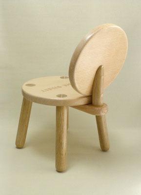 木製キッズチェア2