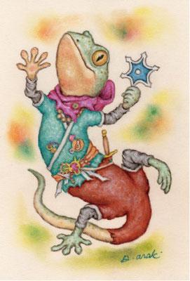 キャラクターポストカード7