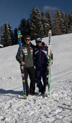 Alexander Köll (links) und Jack Gower (rechts)