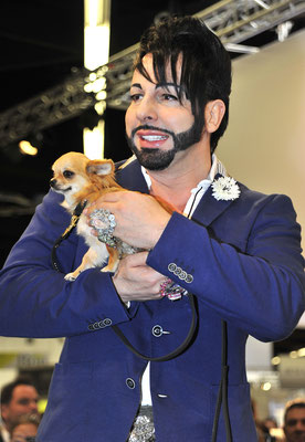 Harald Glööckler: Dog Couture Interzoo Nürnberg