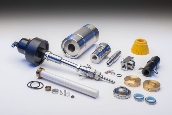 GT Machine Components - Produktfotos