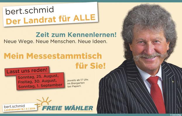 Anzeige - Wahl des Landrats