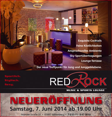Kunde: Red Rock-Music & Sports Lounge