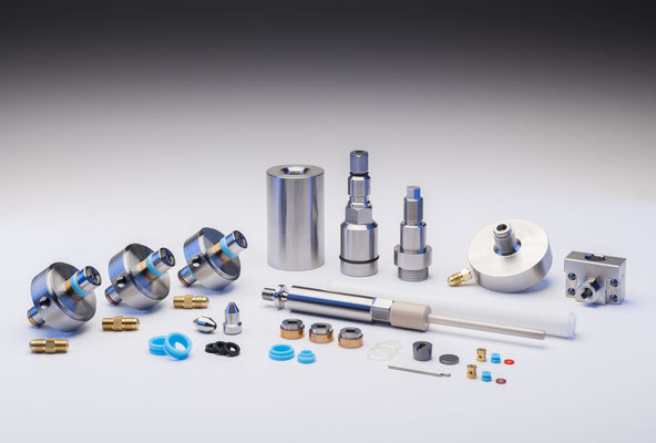 GT Machine Components - Produktfotos