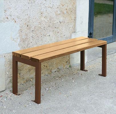 Sitzbank Silaos ohne Rückenlehne