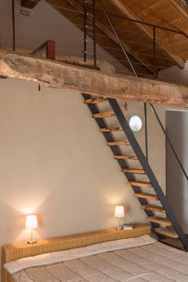 Ein weiteres Schlafzimmer mit zusätzlicher Schlafgalerie im Obergeschoss...