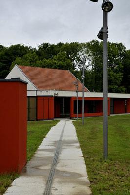 Ecole-salle polyvalente Menoncourt - Territoire de Belfort - Architecte : Thierry Gheza