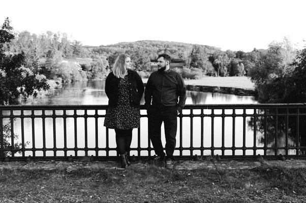 Séance photo couple engagement Estelle et Jérémie - Faverney - Haute-Saône