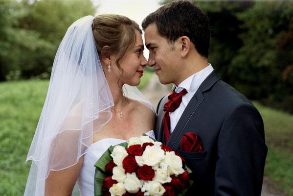 Mariage M&M - Photo de couple - Fleurey les Faverney - Haute-Saône