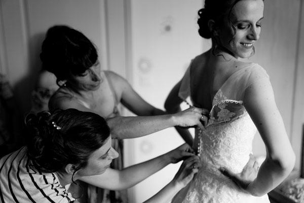 Mariage G&F - Préparatifs de la mariée - Navenne - Haute-Saône