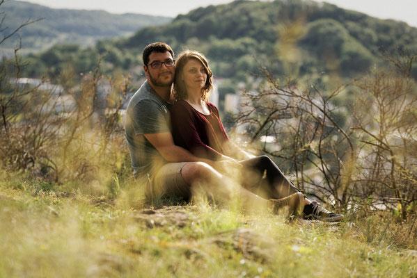 Séance photo couple engagement Cindy et Mathieu - Le Sabot de Frotey- Haute-Saône