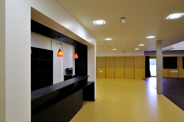 Salle polyvalente Menoncourt - Territoire de Belfort - Architecte : Thierry Gheza