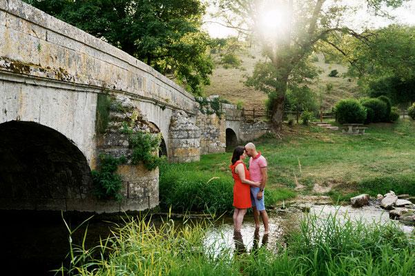 Séance photo couple engagement Clémence et Yannick - Colombe les Vesoul - Haute-Saône