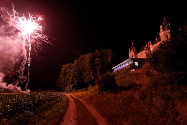 Mariage A&B - Photo soirée - Chateau de Clairvans - Chamblay - Jura