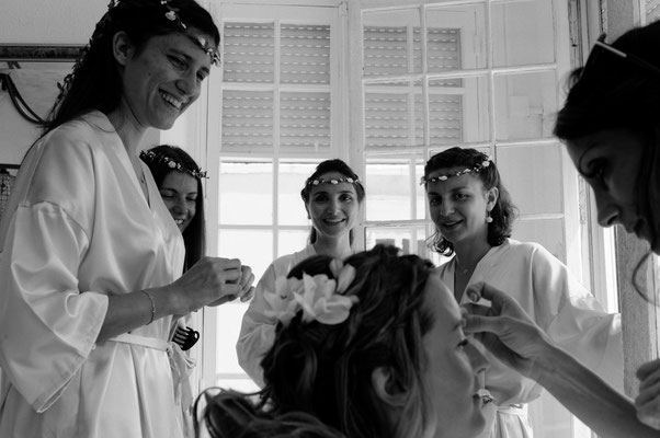 Mariage A&B - Préparatifs de la mariée - Chateau de Clairvans - Chamblay - Jura