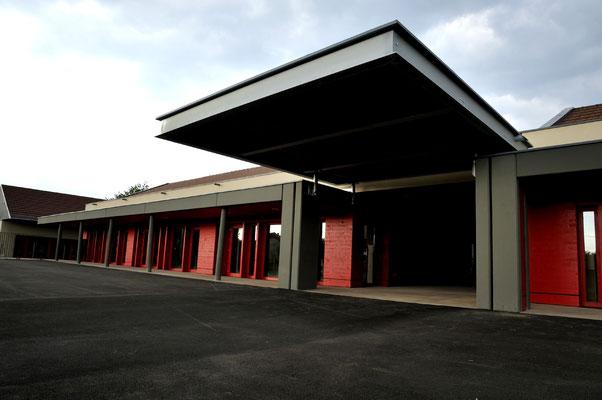 Ecole de Saint Germain - Haute-Saône - Architecte : Thierry Gheza