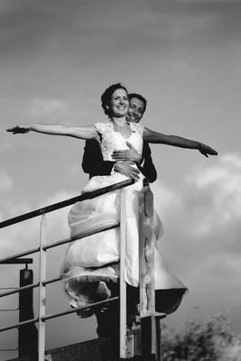 Mariage A&R - Photo de couple - Les Jardins de l'Etang Noidans le Ferroux - Haute-Saône
