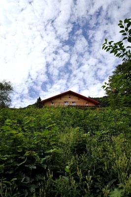Refuge du Gazon Vert - Alsace - Architecte : Thierry Gheza