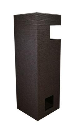 XLarge Pure Open Edge black schwarz gebeizt