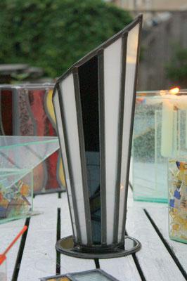 Lamp en kaarsenhouder combinatie.  Artikelnr. L07