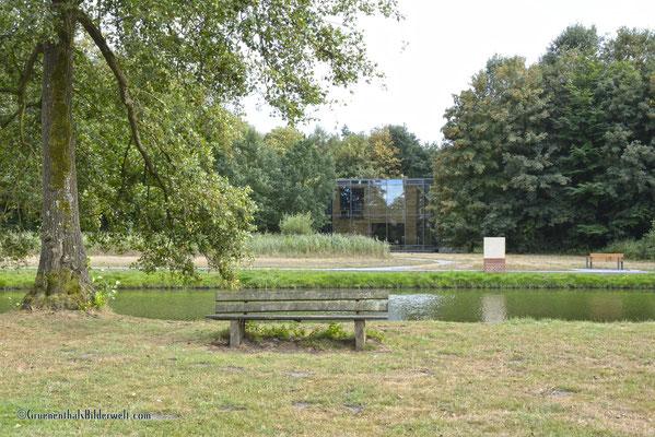 Blick zum Tiergarten Schloss Raesfeld