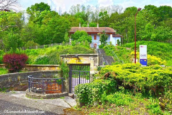 Der Bahnhof von Hombourg