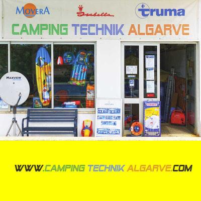 Portugal; Armação de Pera; Wohnmobil-Service; Campingplatz