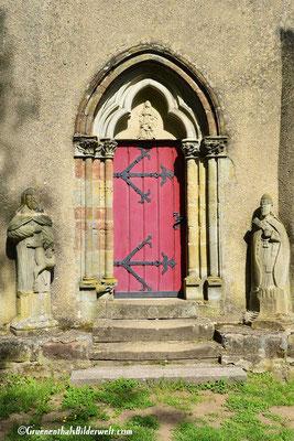 Eingang der Katherinen Kapelle