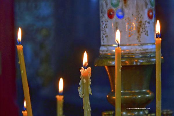 Uspensky-Kathedrale; Opferkerze