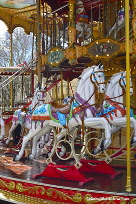 Carrousel historique am Place de l'Horloge