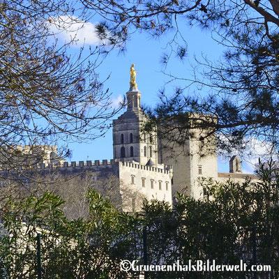 Kathedrale Notre-Dame des Doms mit dem Papstpalast