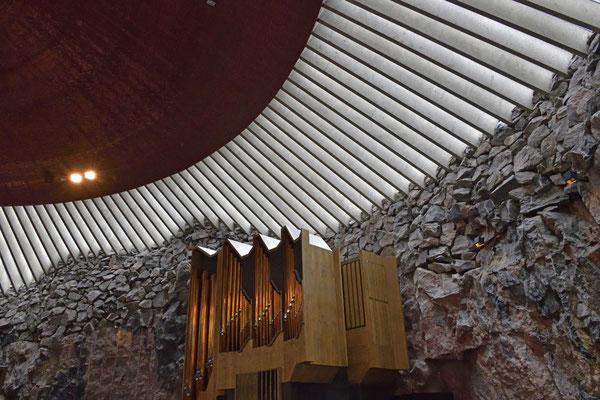 Orgel Temppeliaukio-Kirche (Felsenkirche)