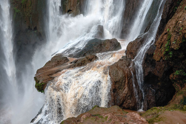 Marokko; Wasserfall