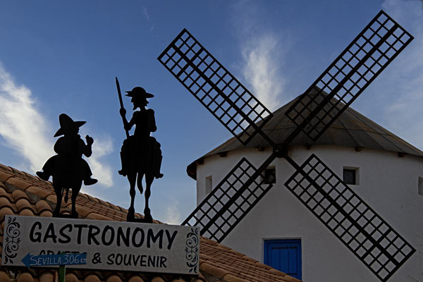 Puerto Lapice; Windmühle; Don Quijote