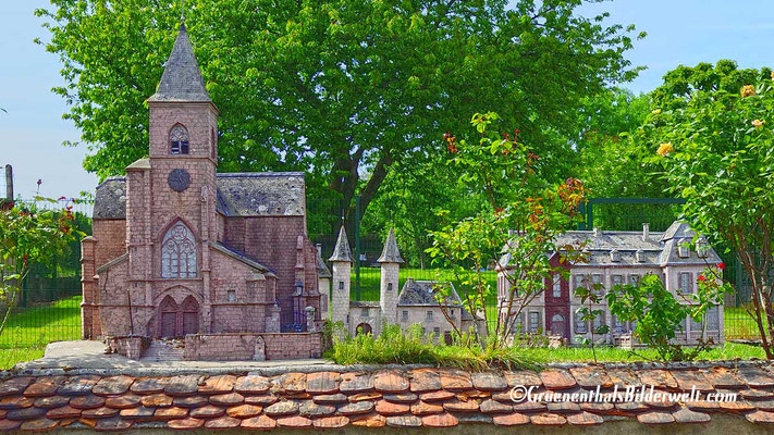 Miniaturen der Historischen Gebäude