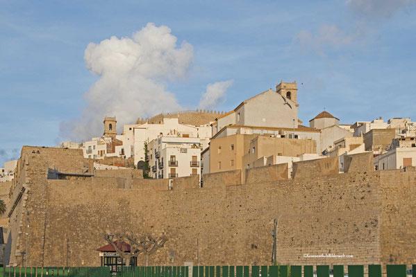 Peniscola; Festung