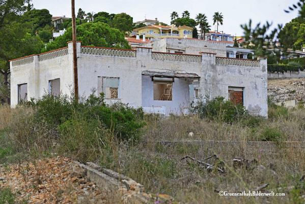 Peniscola; Ruine