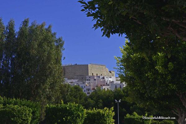 Peniscola; Sichtkontakt mit dem Castillo