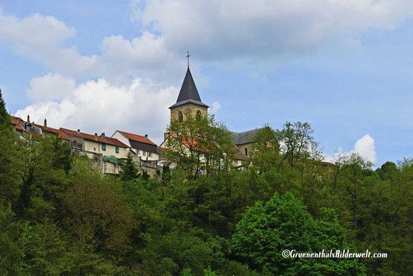 Blick zur Stiftskirche St. Stephanus