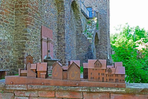 Modell Stadtmauer