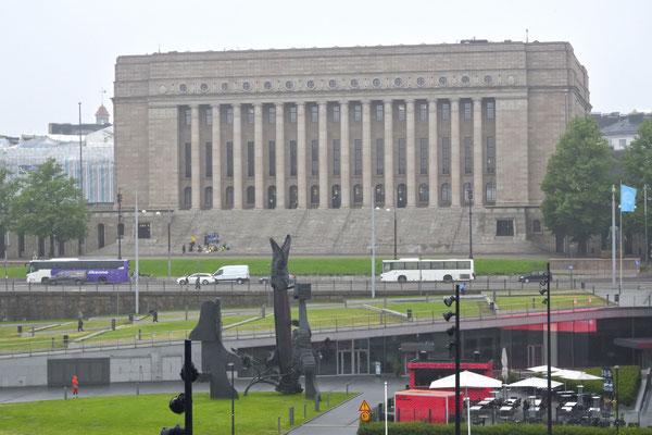 Parlamentsgebäude (Eduskuntatalo)